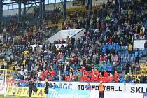 Fanoušci na poháru Teplice - Sparta