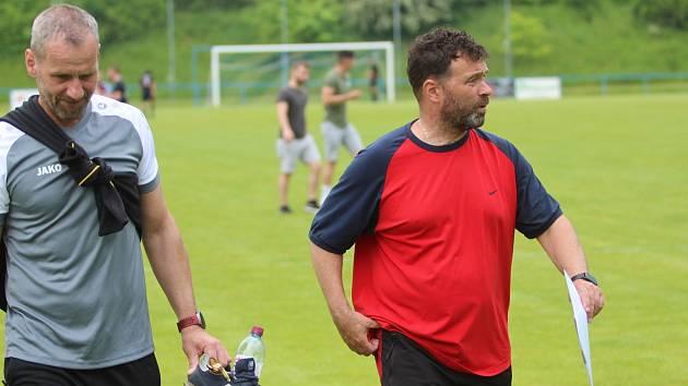 Trenérské duo Krupky Altman - Kučera (vpravo).
