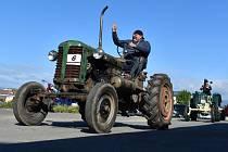 Traktoriáda v Žalanech.
