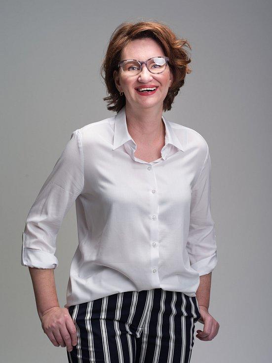Veronika Mašínová po proměně.