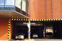 Parkování v NC Fontána Teplice