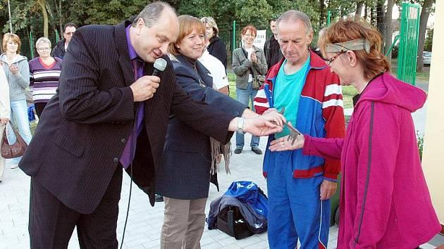 Otevřeli nový sportovní areál v duchcovské Bažantnici