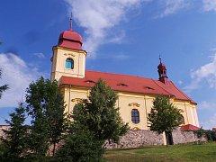 Kostel svatého Prokopa v Mukově na Teplicku.