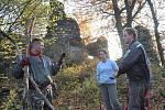 Cíl je jasný: záchrana hradu Rýzmburk