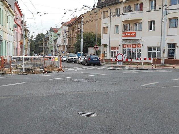 Ulice Jankovcova, Teplice