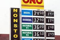 ONO Diesel: 34,50, Natural 95 36,50