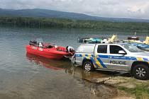 Říční policie hlídá provoz na hladině oblíbené Barbory
