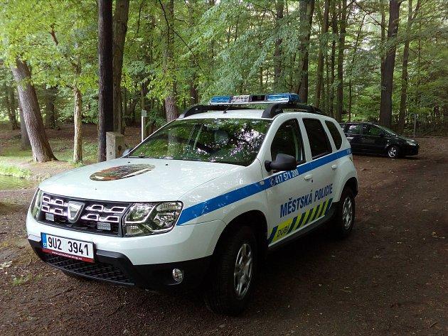Městská policie Dubí. Ilustrační foto.