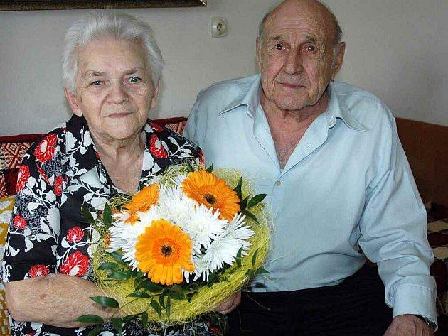 Marie a Ludovít Zajáčkovi oslavili 60 let společného života