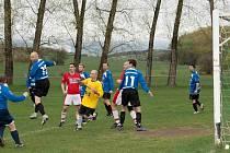 Fotbal v Hrobčicích.