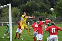 Sport fotbal I.B třída Heřmanov (zelená) vs. Unčín
