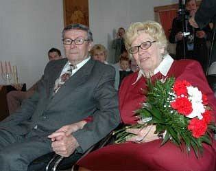 V Krupce slavili zalatou svatbu.