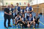 Turnaj v badmintonu sportovců z firmy KSPG a hostů.
