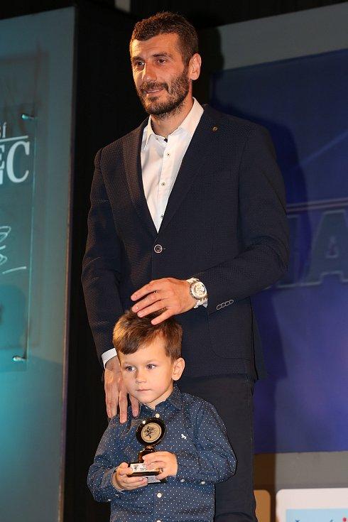 Admir Ljevaković se synem.