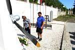 Pietní akt se uskutečnil v pátek na hřbitově v Duchcově.