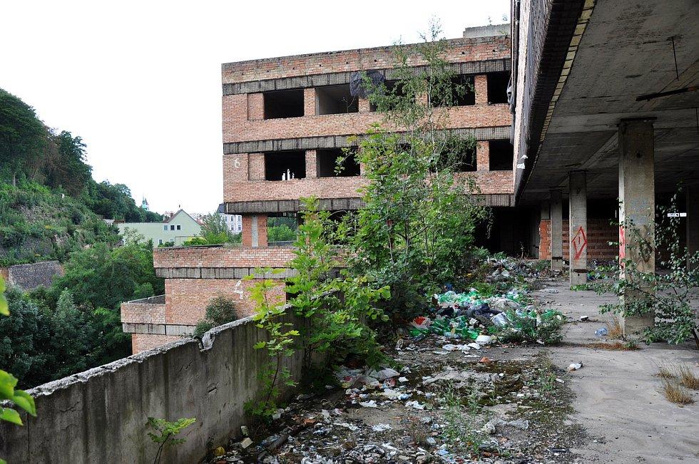 Ruina v Mlýnské ulici.