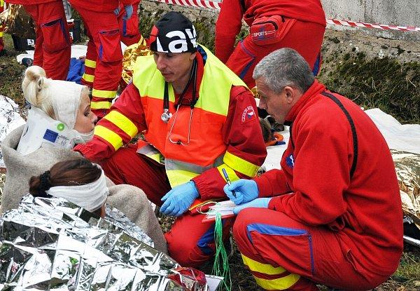 Petr Machold, lékař zteplické záchranky.