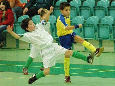 Halový turnaj malých fotbalistů