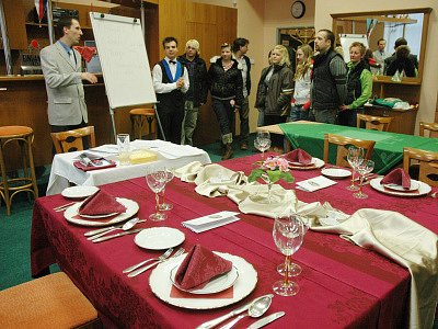 Hotelová škola Teplice otevřela v sobotu své dveře veřejnosti.