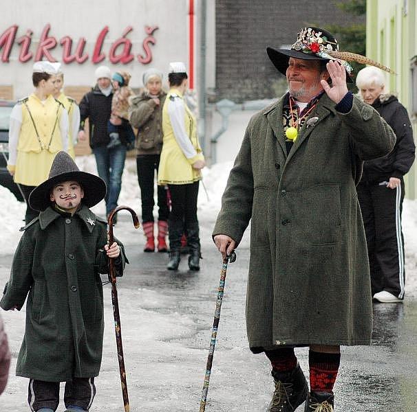17. ročník masopustu v Mikulově (18. února 2012)