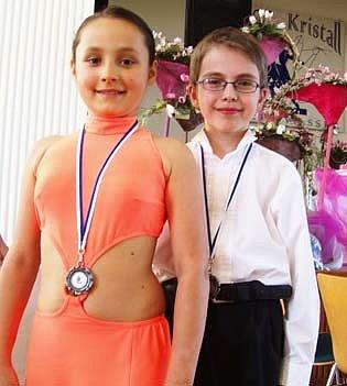 Mladí tanečníci přivezli z Německa dvě medaile.