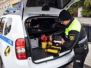 Strážníci městské policie v Dubí mají nové auto.