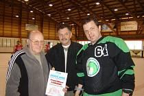 František Lehký je prvním držitelem ceny Legenda bílinského hokeje