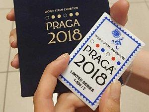 První porcelánová známka se představí na výstavě Praga 2018