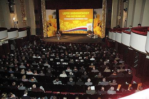 Z celostátní konference ČSSD v Teplicích