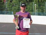 Hokejbalový turnaj v Krupce - Martin Rus z Dubí