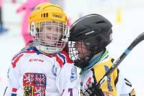 Nábor malých hokejistů do klubu HC Teplice Huskies na ledě Ice Arény u OC Olympie.