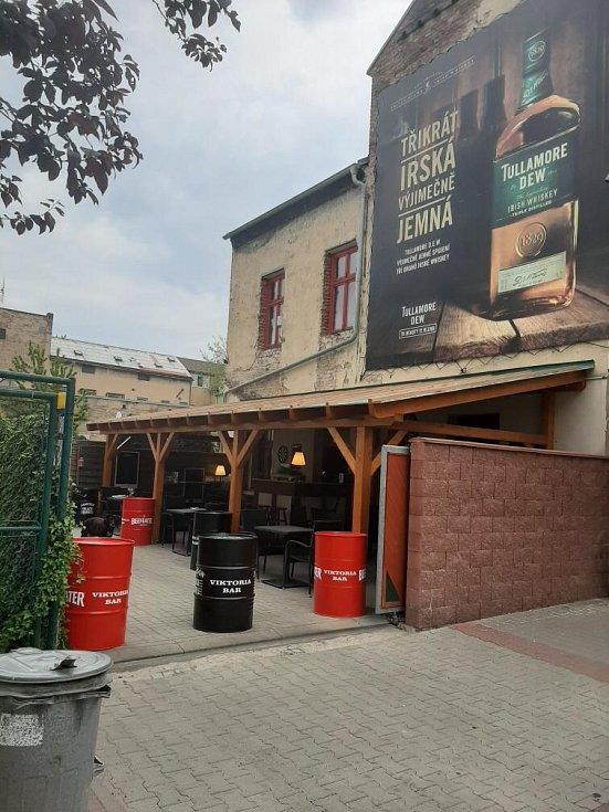 Restaurace Viktoria v Duchcově.