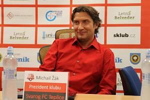 Michail Žák, prezident Svarogu