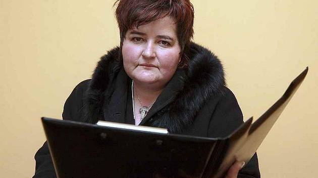Teplická smuteční řečnice Irena Brožová