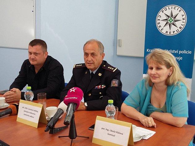 Z tiskové konference, kde teplická policie o případu informovala.