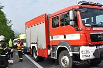 Dopravní nehoda na silnici z Bíliny do Teplic u Hostomic