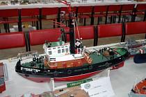V Proboštově probíhá výstava modelů lodí, letadel a aut