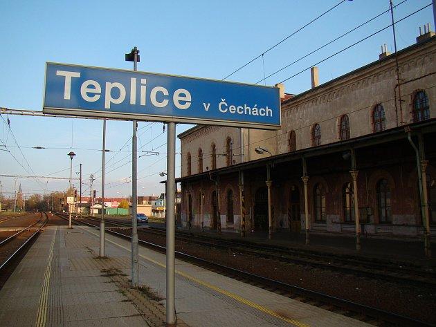 Oprava hlavního nádraží Teplice