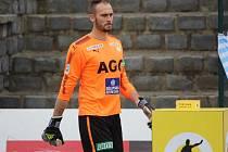 Brankář FK Teplice Jakub Diviš.