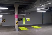 Nová dobíjecí stanice v OC Galerie Teplice