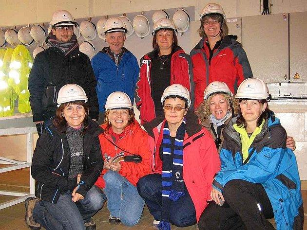 Učitelé teplického gymnázia na Islandu