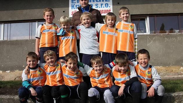 Satelitní turnaj mladších přípravek v Krupce
