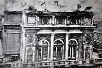Požár teplického divadla