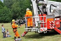 Oslavy 85. výročí založení českého sboru dobrovolných hasičů v Košťanech.