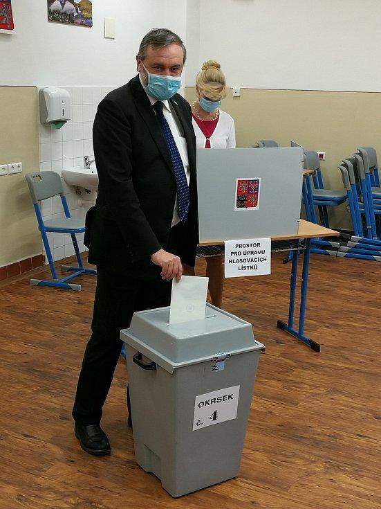 Zdeněk Bergman u voleb