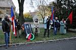 Vzpomínková akce v Hrobu k 30 letům od sametové revoluce