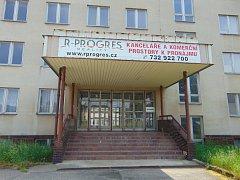 Areál bývalé Geoindustrie v Proboštově.