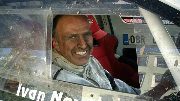 Ivan Novák z Krupky pojede Dakar 2011