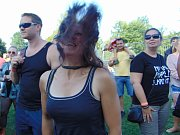 Premiérový ročník festivalu Rock u rybníka v Proboštově se vydařil.