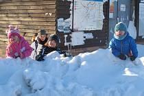 Zima na Moldavě. (18.1. 2017)